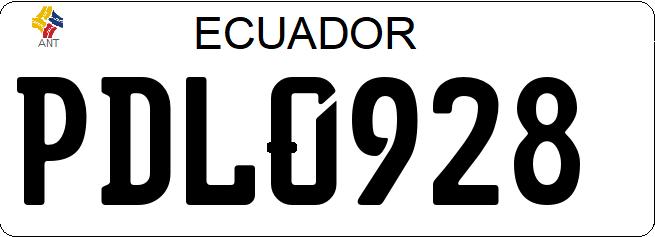 placa-matriculacion-ecuador